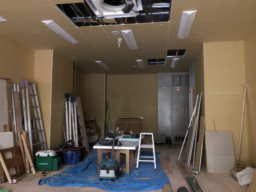 内装工事 大井町 バレエスタジオ